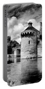Scotney Castle In Mono Portable Battery Charger