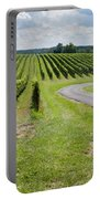 Maryland Vinyard In August Portable Battery Charger
