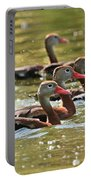 Black-bellied Whistling Ducks Portable Battery Charger
