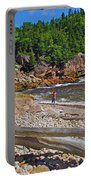 Black Brook In Cape Breton Highlands Np-ns Portable Battery Charger