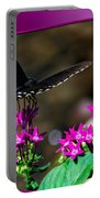 Black Butterfly 06 Portable Battery Charger