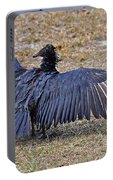Black Buzzard Back Portable Battery Charger
