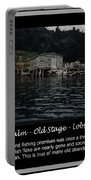 Black Calm - Old Stage - Lobster Pots Portable Battery Charger