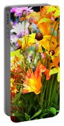 Black Eyed Susan Bouquet Portable Battery Charger