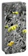 Black-eyed Susan Field Portable Battery Charger