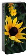 Black-eyed Susan Glows With Cheer Portable Battery Charger