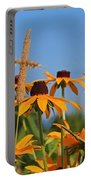 Black Eyed Susan Portable Battery Charger