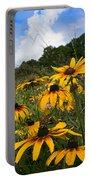Black-eyed Susans Portable Battery Charger