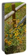 Black Eyed Susans In A Wildflower Meadow Portable Battery Charger