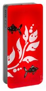 Black Fish Left Portable Battery Charger