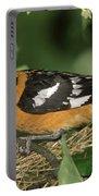 Black-headed Grosbeak Male Portable Battery Charger