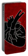 Black Heart Portable Battery Charger