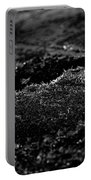 Black Ice Abstract Portable Battery Charger