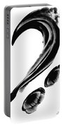 Black Magic 300 - Black And White Art Portable Battery Charger