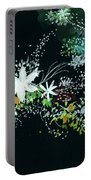Black N White Portable Battery Charger