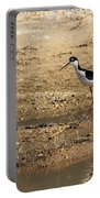 Black-necked Stilt Portable Battery Charger by Robert Bales