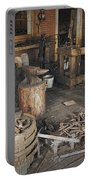 Black Smith Shop In Fort Edmonton Portable Battery Charger