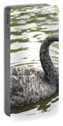Black Swan Bird Photograph Portable Battery Charger