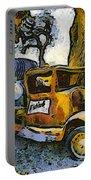 Blackjack Winery Truck Santa Ynez California Portable Battery Charger