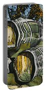 Blackjack Winery Wine Barrels Portable Battery Charger