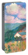 Blacksburg Clouds Portable Battery Charger
