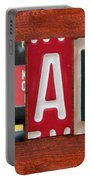Blake License Plate Name Sign Fun Kid Room Decor Portable Battery Charger