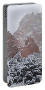 Blanketed Grandeur - Garden Of The Gods Portable Battery Charger