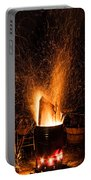 Blazing Bonfire Portable Battery Charger