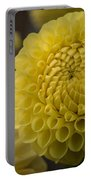 Blazing Yellow Dahlia Portable Battery Charger