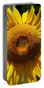 Blazing Yellow Sunflower Portable Battery Charger