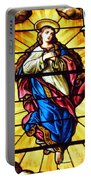 Blessed Mother's Ascension Portable Battery Charger