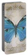 Bleu Papillon-b Portable Battery Charger