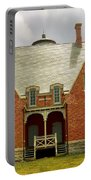 Block Island Southeast Light -back View Portable Battery Charger