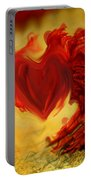 Blood Red Heart Portable Battery Charger