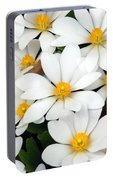 Bloodroot Blooms Portable Battery Charger