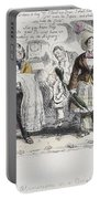 Bloomer Cartoon, C1851 Portable Battery Charger