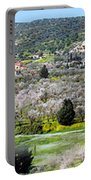 Blooming Almond Trees Portable Battery Charger