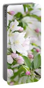 Blooming Apple Tree Portable Battery Charger