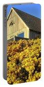 Blooming Bandon Broom Portable Battery Charger