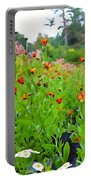 Blooming Beauties Portable Battery Charger