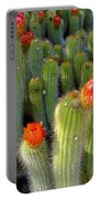 Blooming Cacti Portable Battery Charger