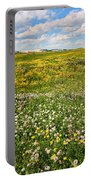 Blooming Fields Portable Battery Charger