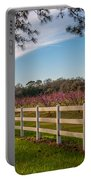 Blooming Peach Tree's At Boone Hall Portable Battery Charger