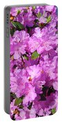 Blooming Pink Azaleas Portable Battery Charger