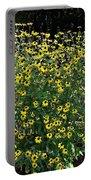 Blooming Rudbeckia Bush Portable Battery Charger