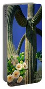 Blooming Saguaro Portable Battery Charger