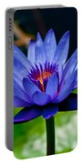 Blooming Water Lily Portable Battery Charger