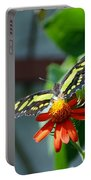 Blooms And Butterfly2 Portable Battery Charger