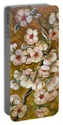 Blossom Time Portable Battery Charger
