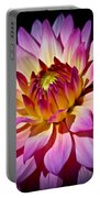 Blossoming Flower Portable Battery Charger